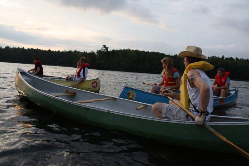 Camp Lutherlyn 2012 Canoeing