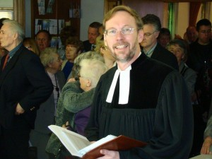 Pastor Alexander Mielke, served from 2007-2014, 6 years