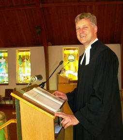 Pastor Dr. Christan Ceconi, Currently Serving From 2013 --