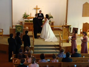 2008 Wedding at Martin Luther Church