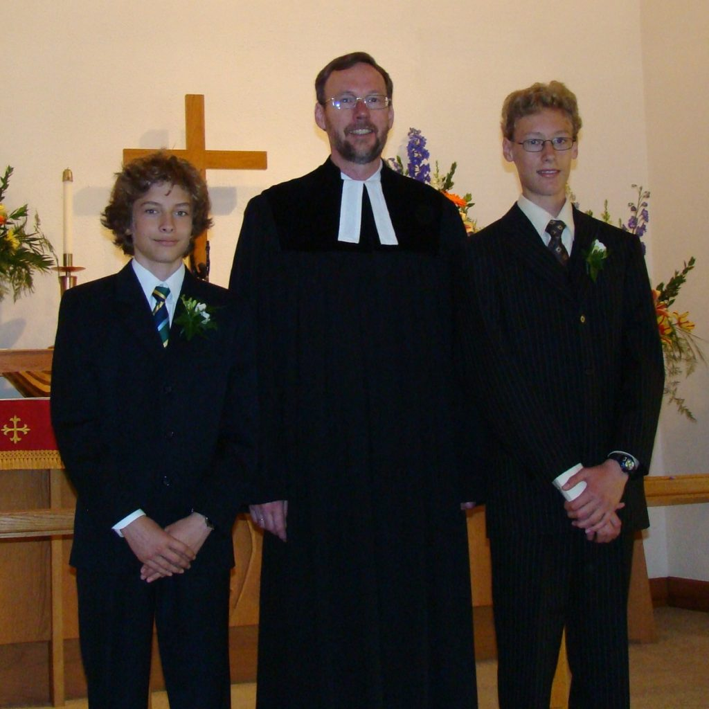 2009  Confirmation At Martin Luther Church