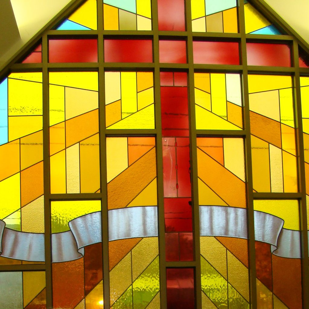 2013 Martin Luther Lutheran Church  Foyer Window