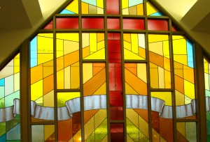 2013 Martin Luther Lutheran Church -foyer window