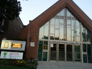 Building Martin Luther Evangelical Church Toronto