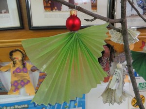 2013 Christmas Bazaar -angel ornament