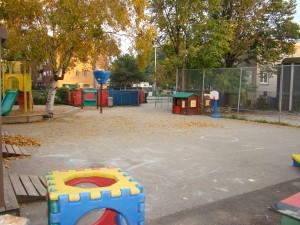2011 Martin Luther Daycare yard