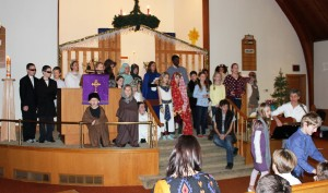 2014 Christmas Play finale