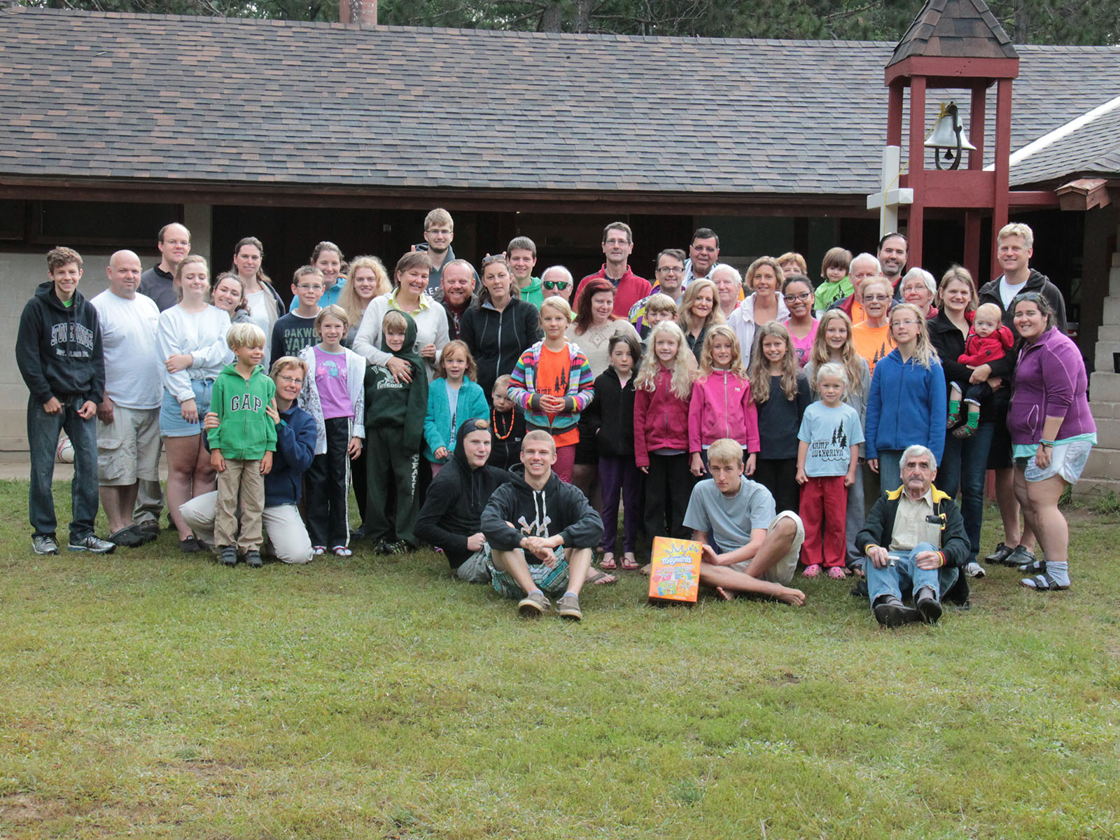 2014 MLC At Camp Lutherlyn, Group