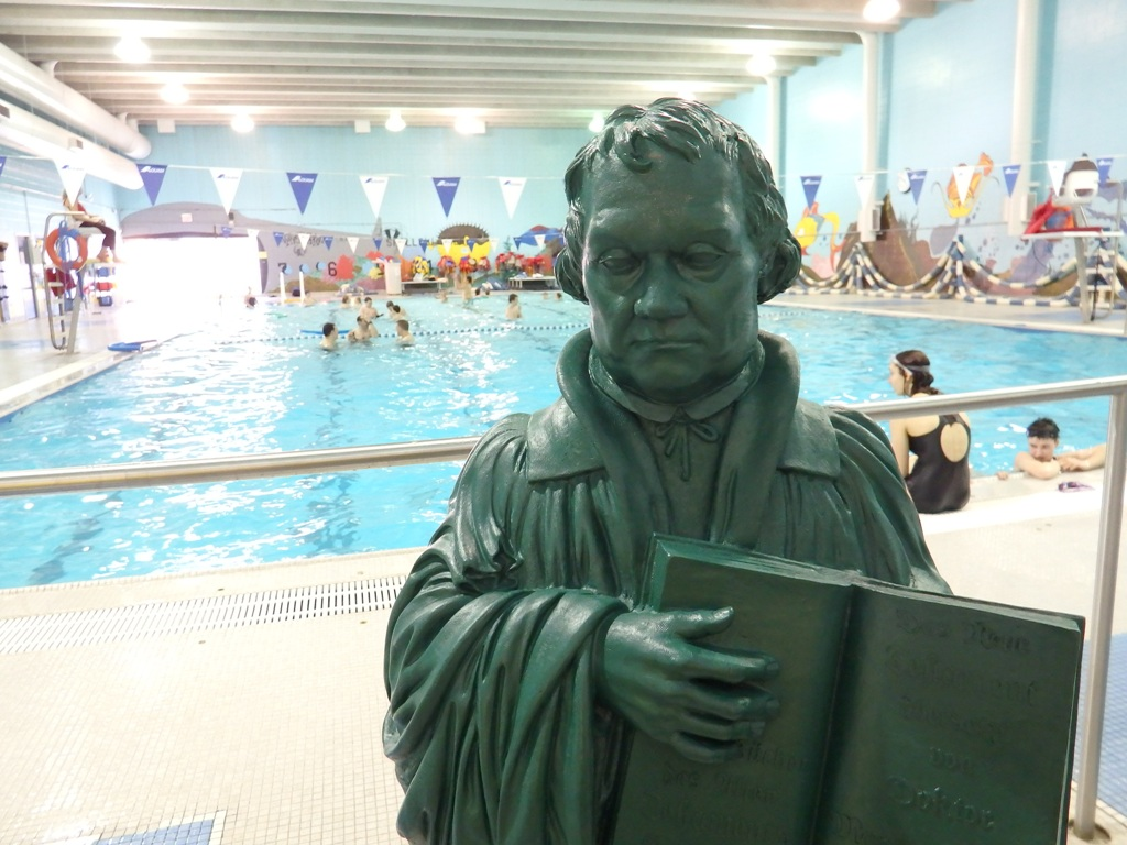 We Had A Fantastic Swim Party With The Martin Luther Ambassador