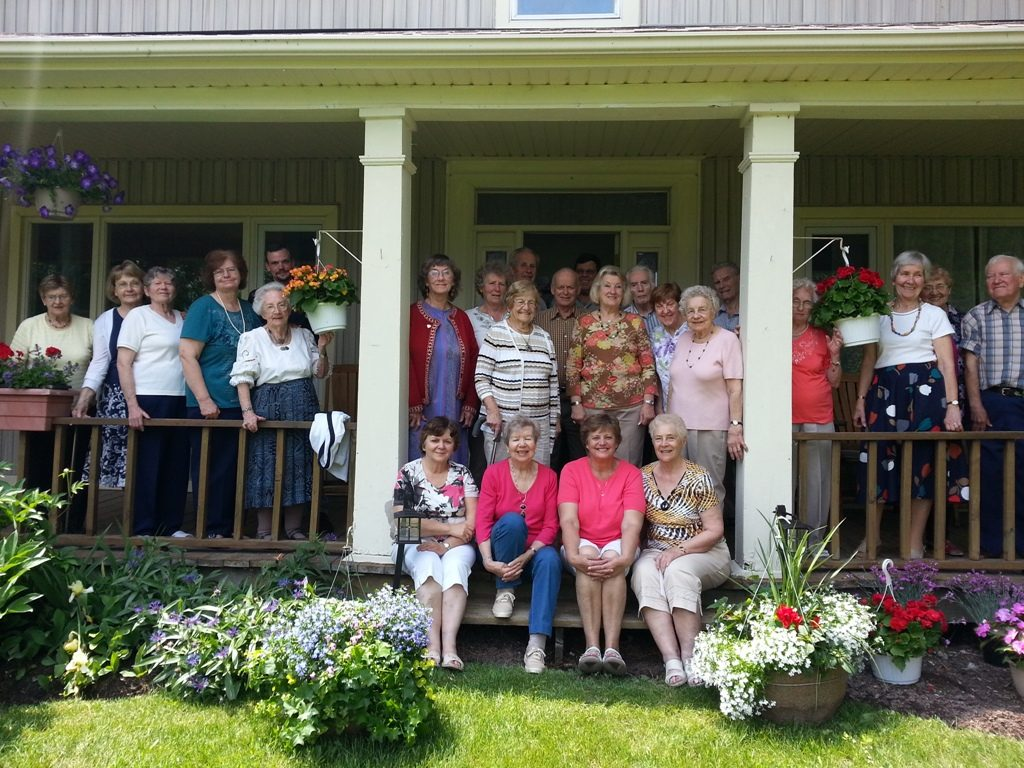 Senior's Group At The Wienecke Farm In 2015