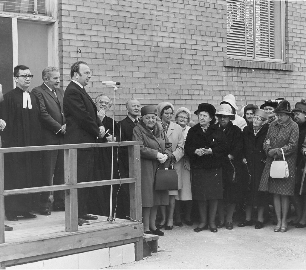 Daycare Opening Day May 1970