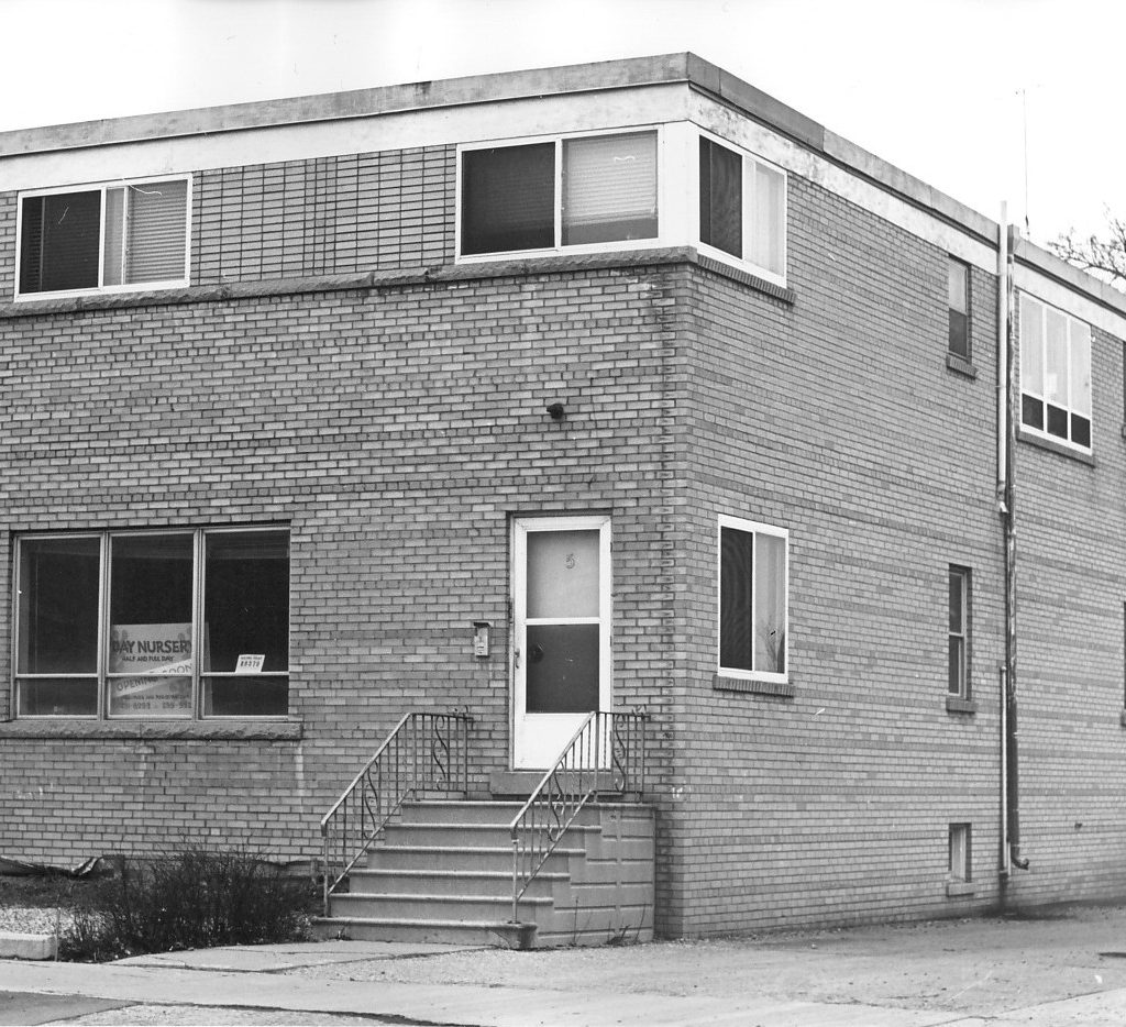 Daycare Building At Purchase, Late 1960s