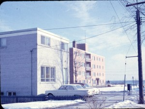 Daycare building purchased by Martin Luther Church in 1969