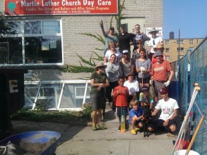 2015 Daycare Yard Cleanup