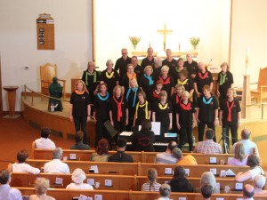 2015 Gospelchor Nienburg at MLC Aug 29