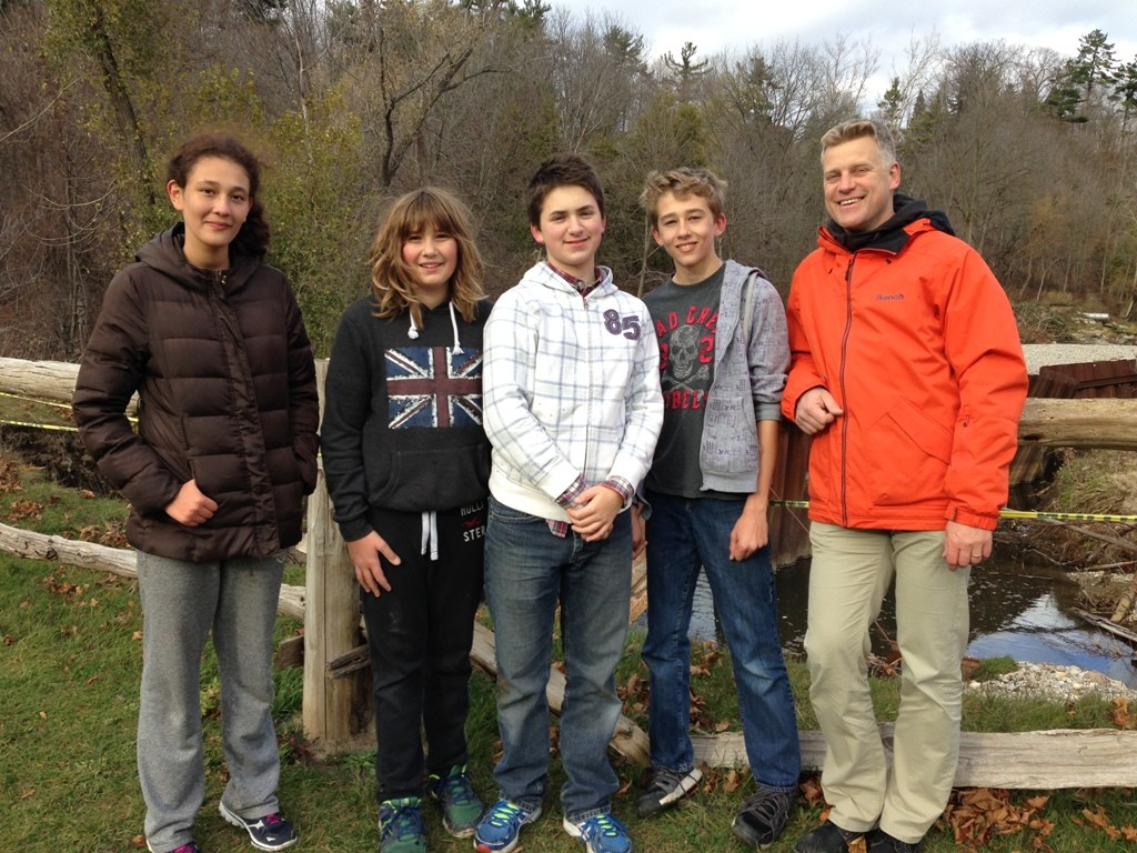 2015 Confirmand's Retreat With Pastor Christian Ceconi