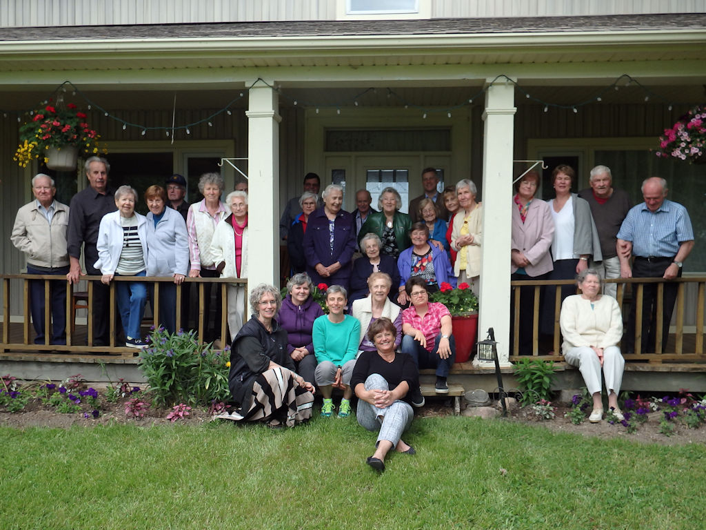 Senior's Group At The Farm In 2016