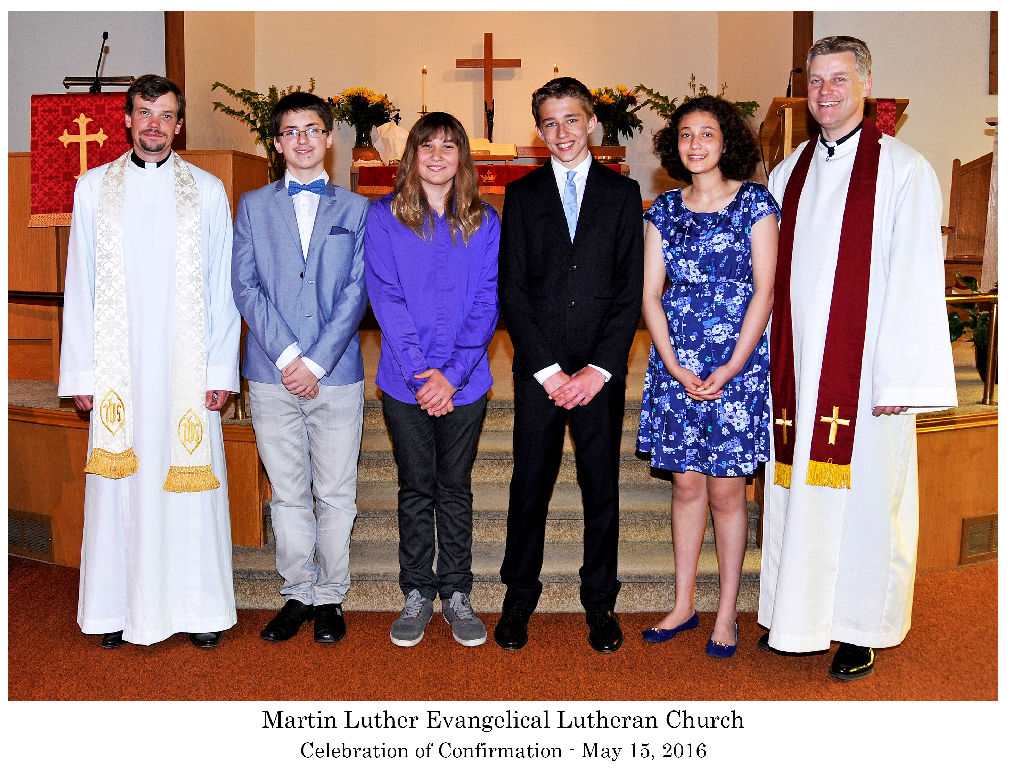Confirmation And A Farewell To Vicar Moritz