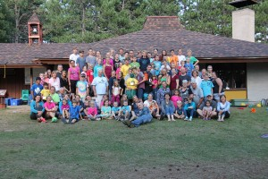 2016 Camp Lutherlyn - group