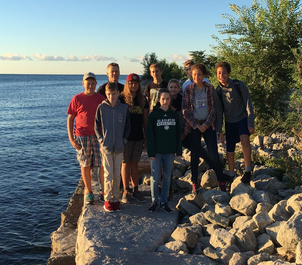 2016 Confirmands By The Lake