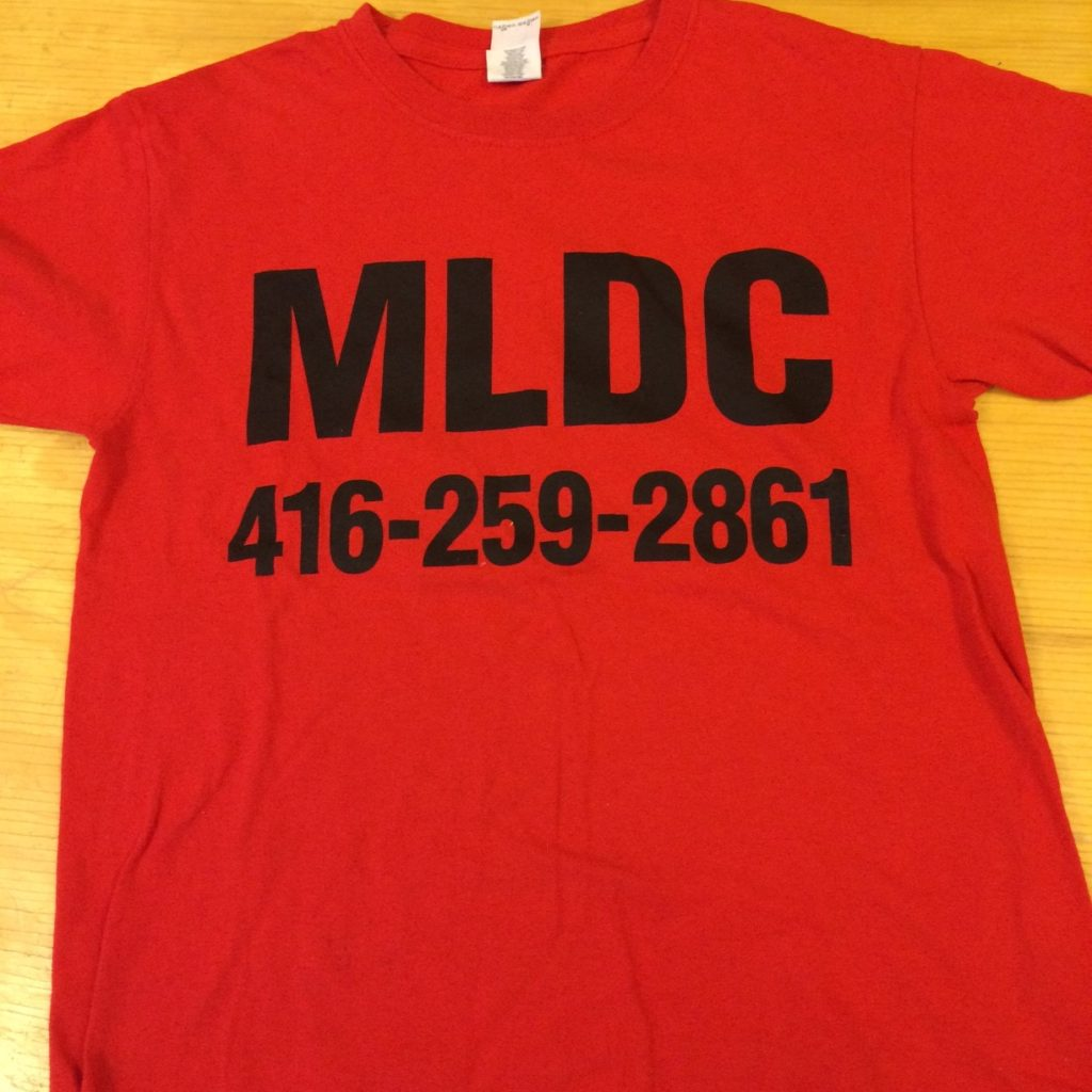 2016 MLC Day Care T-shirt