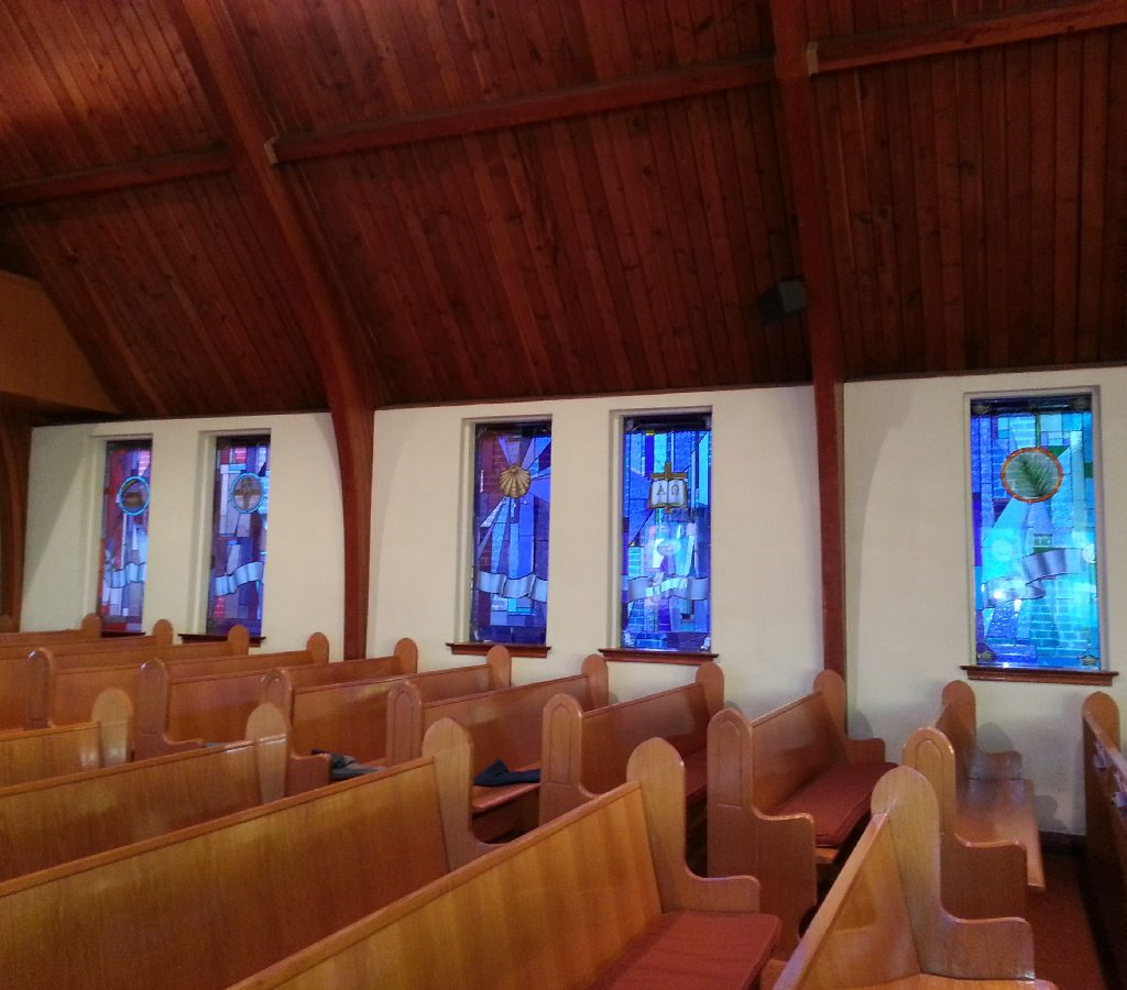 2017 New Windows In Church Nave