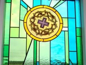 6. Maundy Thursday: Night of Jesus' imprisonment, Symbol: Cross with Crown of Thorns. Flower: Dandelion = Triumph