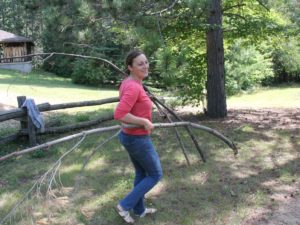 Spring Cleaning at Camp Lutherlyn