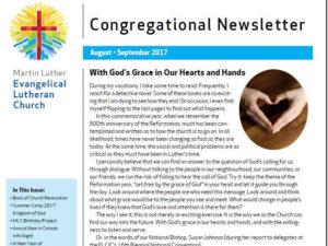 Aug - Sep 2017 MLC Newsletter