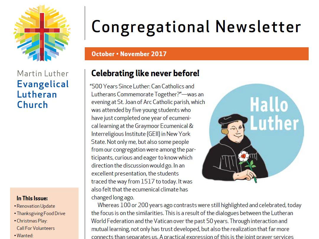 OctNov2017 MLC Newsletter