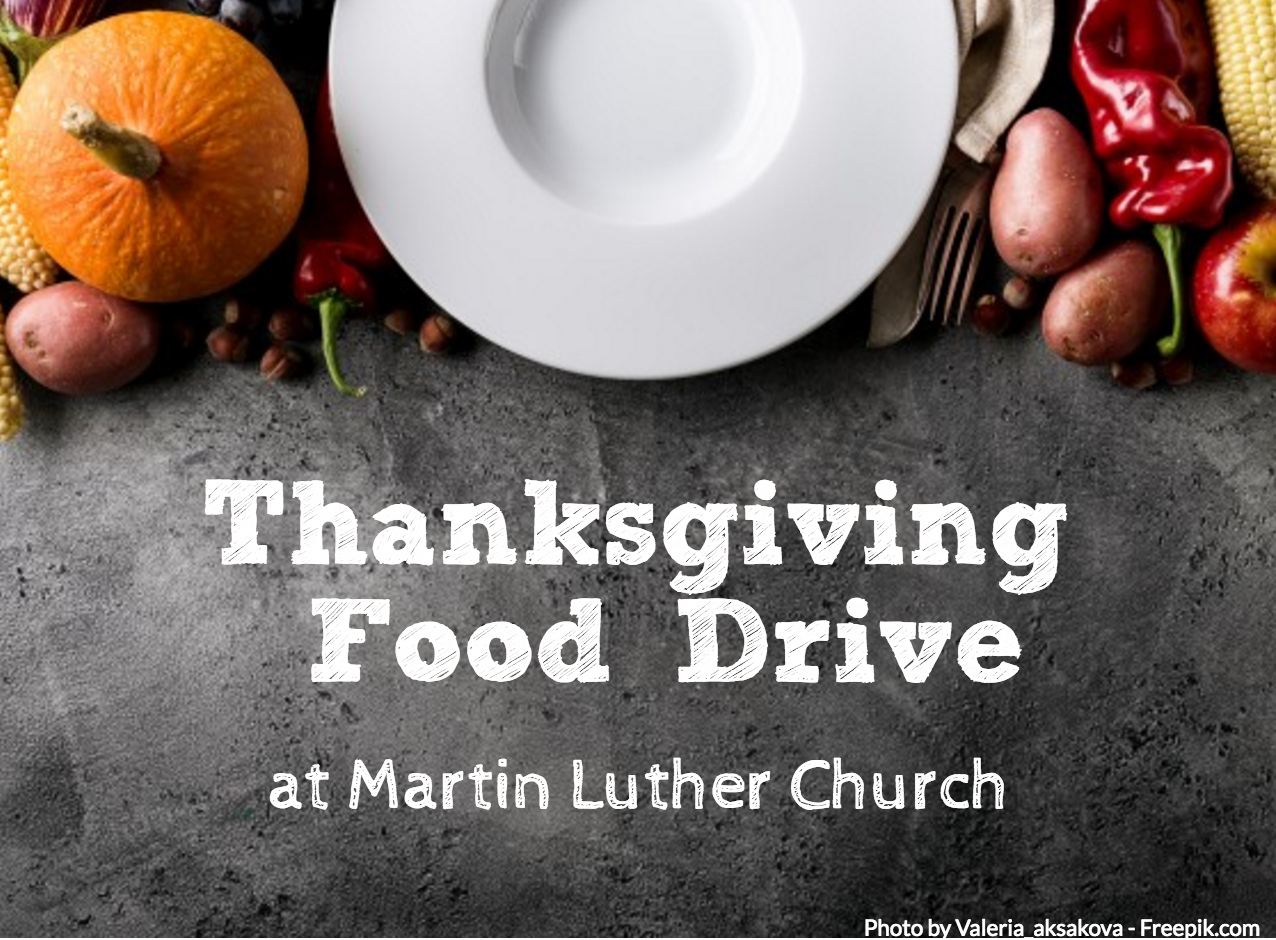 Thanksgiving Food Drive 2018