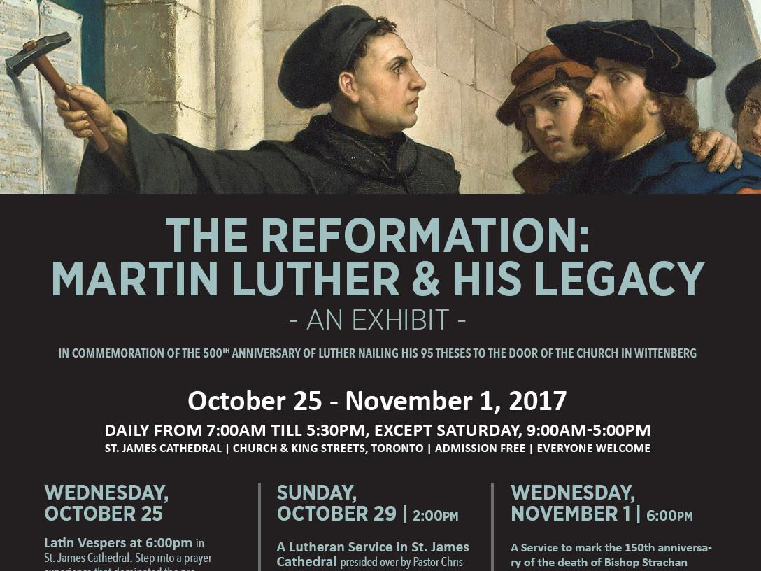 Be A Part Of The Reformation Events In Toronto