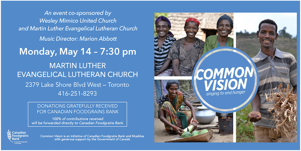 Common Vision Concert on May 14-2018