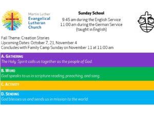 Sunday School theme Creation