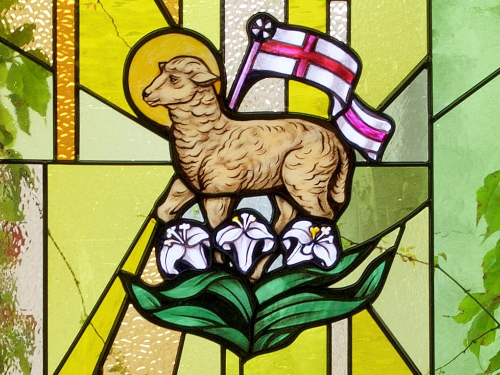 Window With Lamb