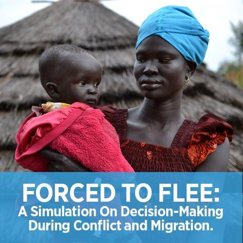 2019 Refugee Forced To Flee Poster From Foodgrains Bank