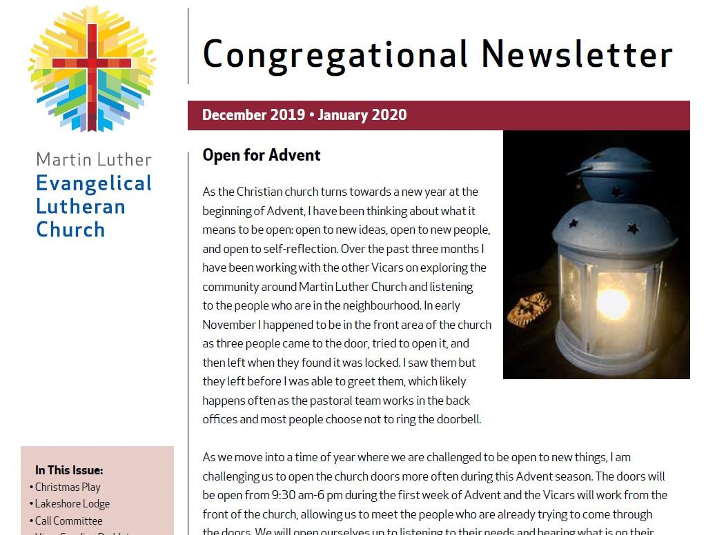 Dec 2019 - Jan 2020 Newsletter -posting