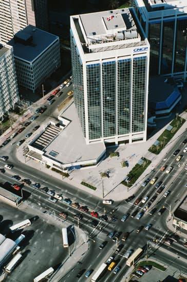 Aerial View Of Downtown Toronto, Ontario