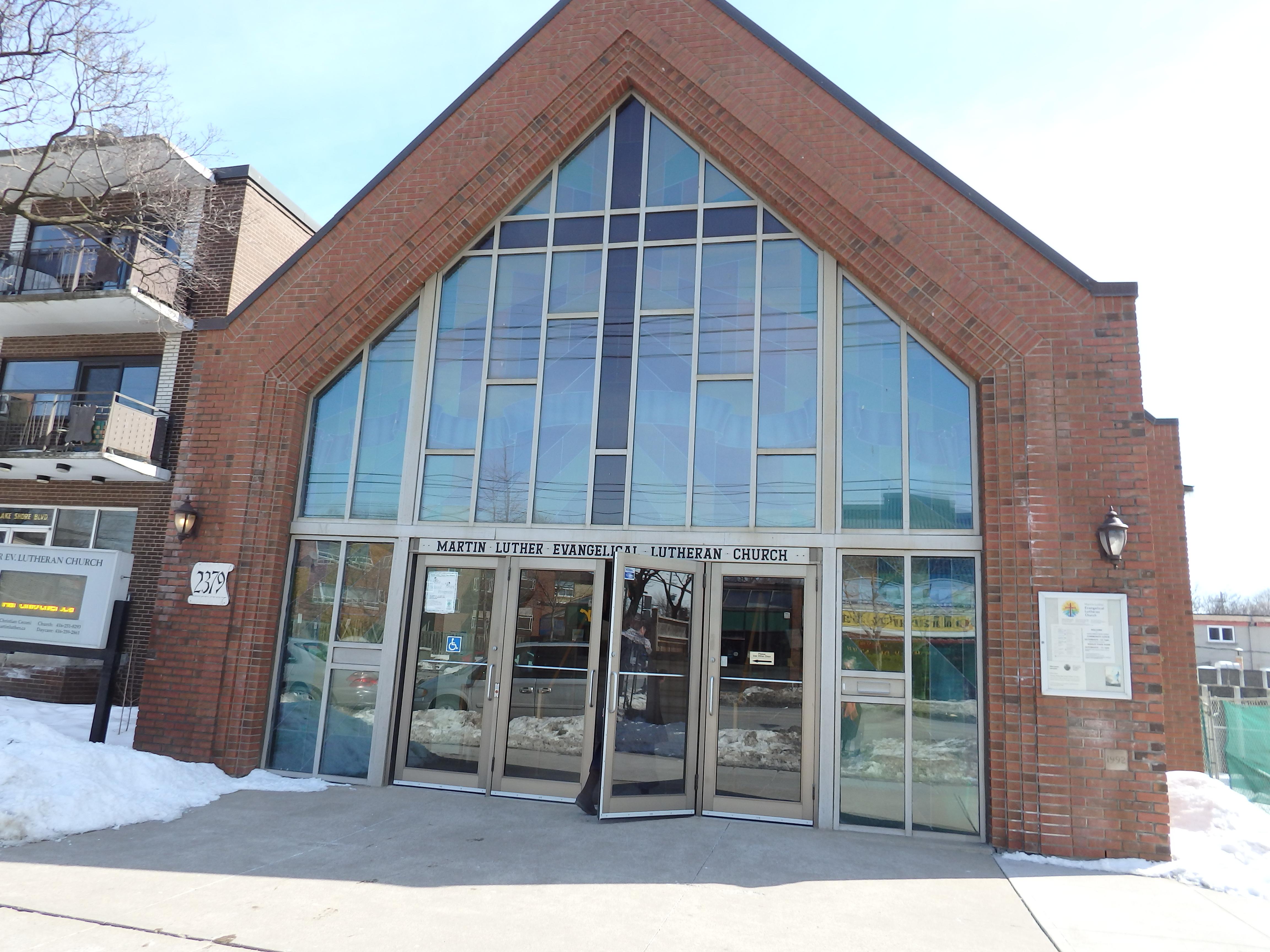 Church Facade Winter