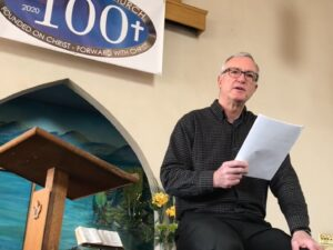 2020 Lent IV Rev. Jim Sanderson from Mimico Baptist Church