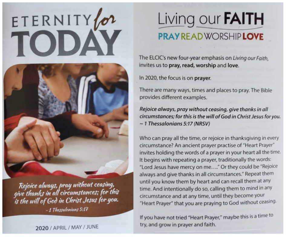 Eternity For Today Front And Back Cover ELCIC AprMayJune2020