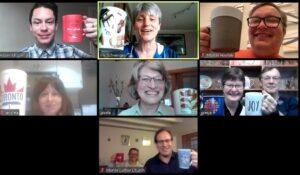 Zoom Sunday coffee hour