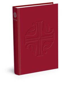 Evangelical Lutheran WOrship (ELW) red song book cover standing