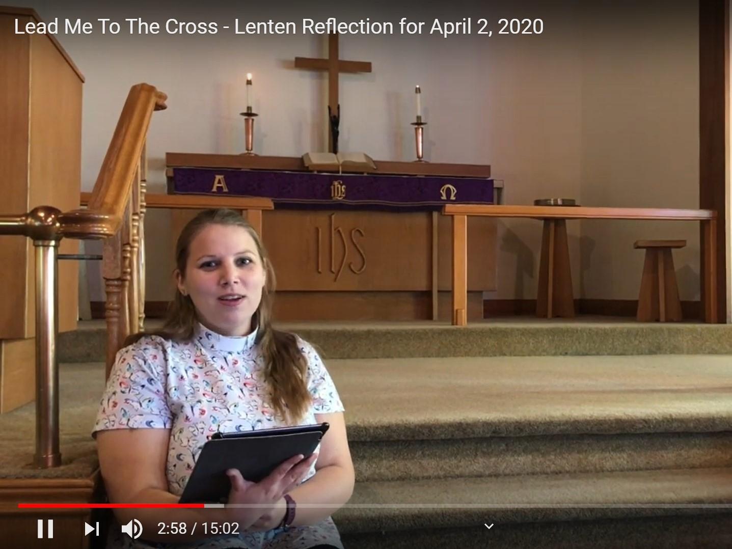 Lent V Cross In The CIty Vicar Martin Luther Church Vicar Silke Fahl (Apr2-2020)