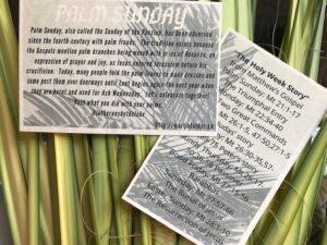 Palm Sunday -The Holy Week Story