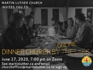 Dinner Church Invitation