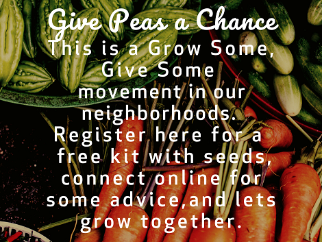 Sign Up To Grow And Share Vegetables