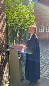 Caroline Raddatz's Installation as Pastor