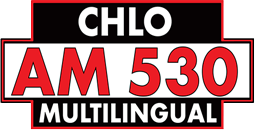 Multilingual radio station CHLO-AM 530 German language program 8:00 am to 12:00 noon.