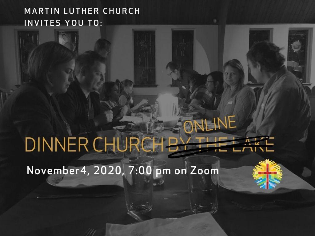 Join Us For Dinner Church Online On Nov 4